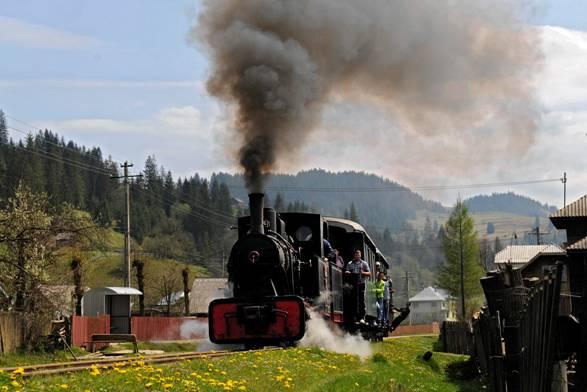 Parcursuri de agrement cu locomotiva Hutulica