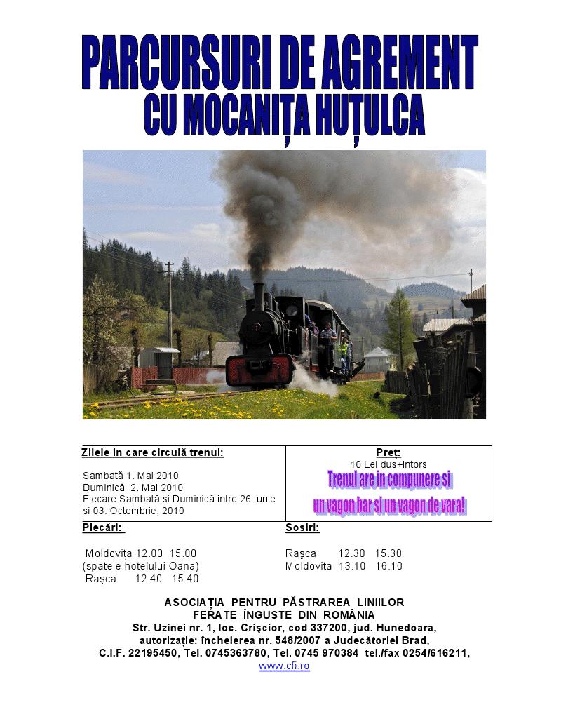 traseu vara la moldovita